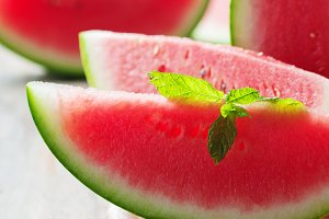 Fresh sweet watermelon