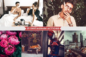 Instagram Filters Photoshop Actions