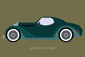 antique car icon