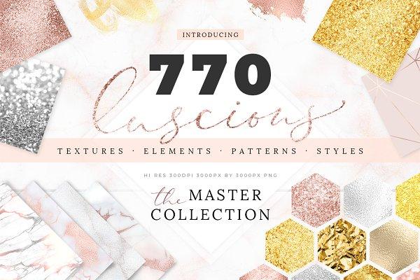 770 Textures Mega Bundle