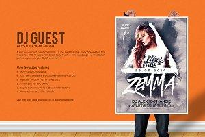 DJ Guest Party Flyer