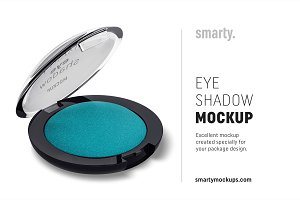 Eye shadow mockup