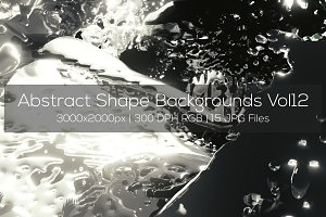 Abstract Shape Backgrounds Vol12