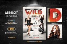 Wild Night - Flyer