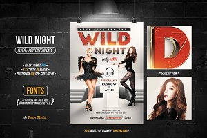 Wild Night - Flyer