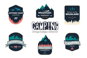 Camping Badges Collection II