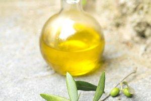 Olive oil, Mediterranean still life