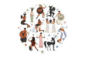 Zodiac Circle of Ancient Greece