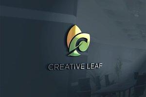 Initial C Leaf Logo