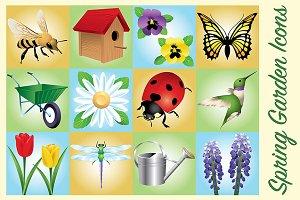 Spring Garden Icons