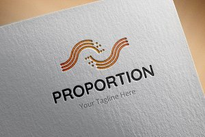 Proportion Logo Template