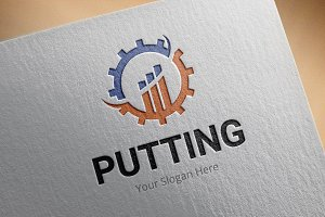 Putting Logo Template