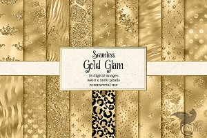 Gold Glam Textures