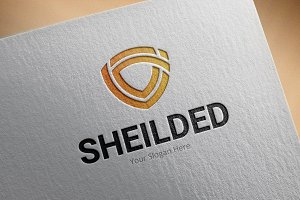 Sheilded Logo Template