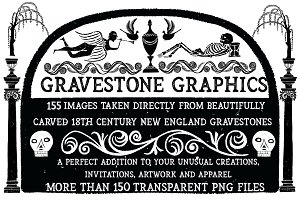 Gravestone Graphics From New England