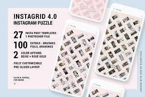 InstaGrid 4.0 - Instagram Puzzle