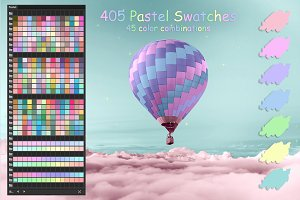 Pastel Colors Ai Swatches