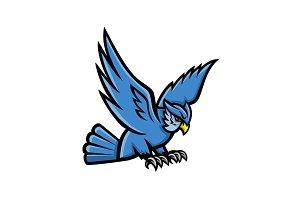 Horned Owl Swooping Mascot