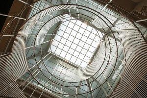 architecture with round window