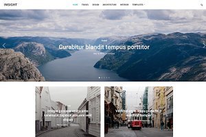 Insight -  Minimal Magazine WP Theme