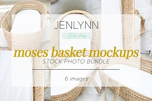 Moses Basket Mockup