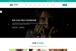 Grant Foundation – Charity Template