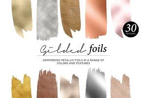 30 Gilded Foils