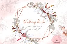 Blushing Bride Floral Collection