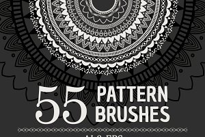 55 Vector Patterns Brushes