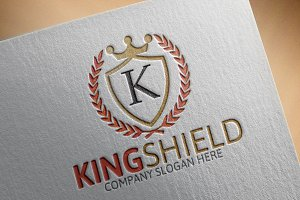 King Shield Logo