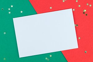 New Year or Christmas greeting lette