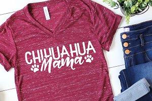 Chihuahua Mama SVG