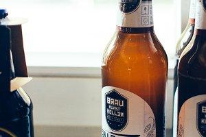 German local IPA craft beer
