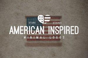 25 American Minimal Vintage Logos