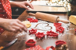 Christmas Cookies Baking with Love