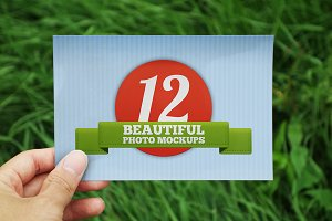12 Beautiful Photo Mockups
