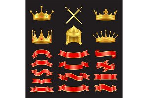 King and Knight Golden Authority