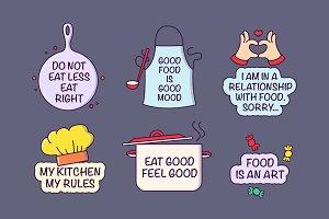 Food Lover Badges