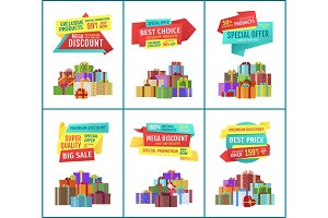 Special Offer Mega Discount Vector