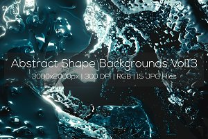 Abstract Shape Backgrounds Vol13