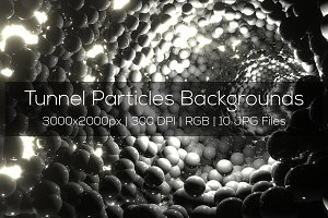 Tunnel Particles Backgrounds