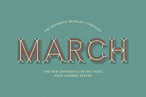 March Typefaces