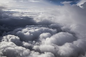 clouds from great height