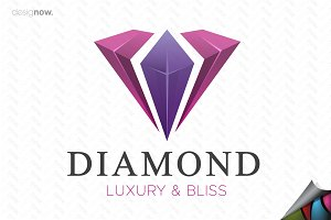 Diamond and Luxury Logo