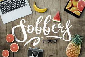 Sobbers Typeface + Swashes