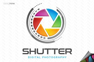 Photography Shutter Logo