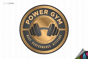 Fitness and Gym Logo Badge