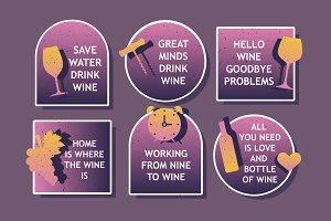 Wine Lover Badges