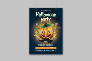 Halloween Party Flyer - V854