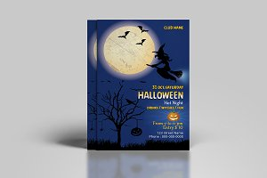 Halloween Party Flyer - V855